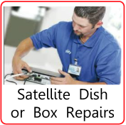 Satellite TV Repairs, & Maintenance Kirkham