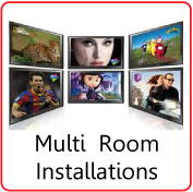 watch satellite tv in more than one room