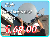 satellite dish alignment repair
